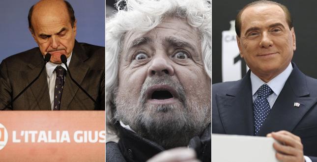 """Grillo, Berlusconi, Bersani, Meloni compagni di proporzionale. Chi gli """"inciucisti""""?"""