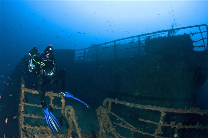 Immersione fatale sulla Haven, muore un sub svizzero di 45 anni