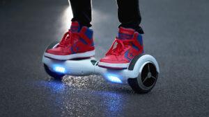 Hoverboard, passione costosa: multa da 1200 euro