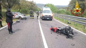Grazzanise: Giuseppe Sorgente e Mario Rossetti morti in incidente, moto contro trattore