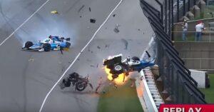 YOUTUBE Indianapolis 500 miglia, terribile incidente tra Dixon e Howard