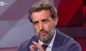 """Flavio Insinna, i fuorionda giravano da anni sui telefoni. Lui a CartaBianca: """"Non scendo in politica"""""""