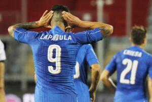 Goleada dell'Italia contro San Marino, tripletta per Gianluca Lapadula