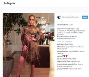 Jennifer Lopez che abito! La cantante si presenta al party così