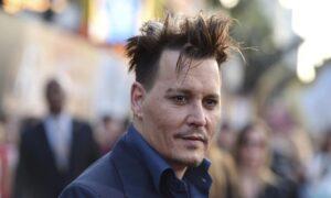 Johnny Depp (foto Ansa)