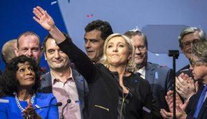 Salvini contro Berlusconi per Macron ma lui ha metà voti della Le Pen