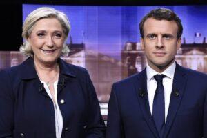 Elezioni Francia, Macron favorito nei sondaggi col 62%. Marine Le Pen rallenta