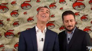 """Luca e Paolo a Dimartedì: """"Cocaina nei bagni di Palazzo Madama? Ecco a cosa serve il Senato"""""""