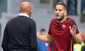 Roma, Manolas e Perotti a un passo dalla rissa in allenamento