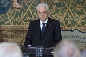 """Primo maggio, Mattarella: """"Disoccupazione troppo alta. Dobbiamo fare di più"""""""
