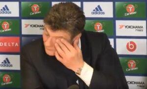 """YOUTUBE Mazzarri gaffe su Conte, il fuorionda: """"Speriamo di non vederlo più"""""""