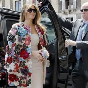 Melania Trump a Taormina