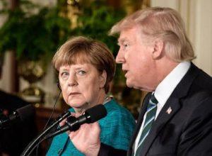 """Merkel: """"Non mi fido di Trump. L'Europa prenda il suo destino nelle sue mani"""""""