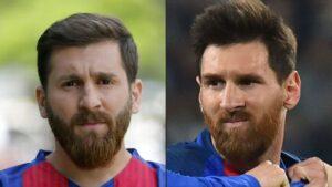Leo Messi, sosia iraniano non piace alla polizia per l'ordine pubblico FOTO