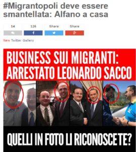"""Grillo accusa: """"Migrantopoli"""". Alfano bersaglio per via di quel Sacco..."""
