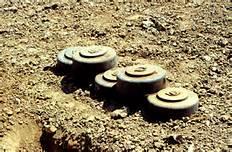 Mine inesplose in Libano
