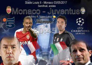 Monaco Juventus diretta pagelle highlights foto formazioni ufficiali champions league higuain