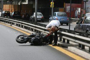 Incidente in A1, moto va a fuoco tra Barberino del Mugello e Calenzano