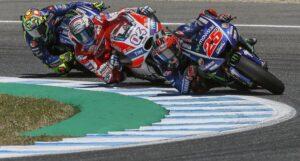 MotoGp Francia, Maverick Vinales vince: cadono Rossi e Marquez