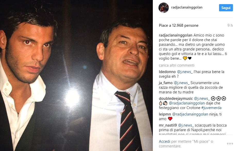 Nainggolan ai tifosi della Juventus: