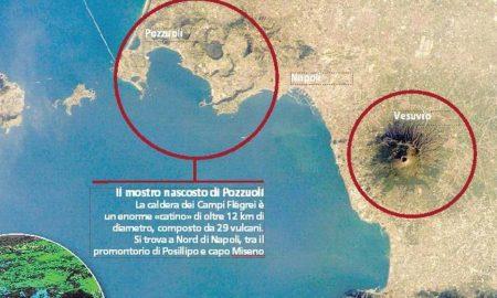 """Supervulcano Campi Flegrei, secondo nuovo studio """"eruzione della caldera è più vicina"""""""