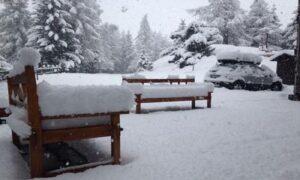 Nord Italia, più neve a maggio che a novembre. Ma gli impianti sono chiusi