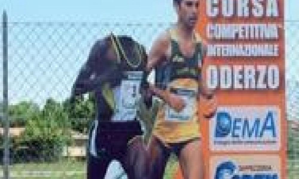 Oderzo, cartellone della corsa cittadina: decapitata la sagoma dell'atleta di colore FOTO