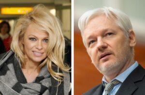 """Pamela Anderson e Julia Assange fidanzati: """"Uniti dalle battaglie per i diritti umani"""""""