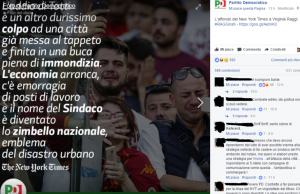 Francesco Totti e Roma, Pd traduce il New York Times ma…