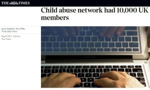 """Pedofili online: in Gran Bretagna network di 10mila persone, molti """"insospettabili"""""""