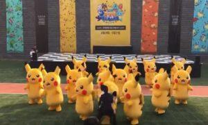 YOUTUBE Il povero Pikachu danzante si sgonfia... Finisce malissimo