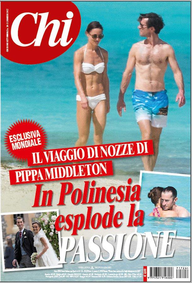 Pippa Middleton in costume da bagno in luna di miele: addominali scolpiti FOTO Chi