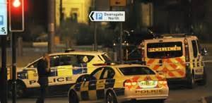 Polizia dopo l'attacco