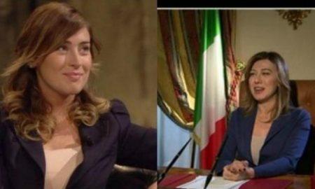 """Maria Elena Boschi, Virginia Raffaele """"Facciamo che io ero"""". Tutte tranne...lei"""