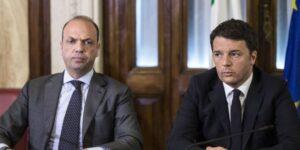 """Renzi attacca Alfano: """"Hai fatto il ministro di tutto e non riesci a prendere il 5%"""""""