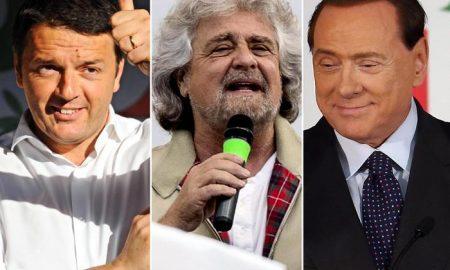 Legge elettorale, l'accordo tra Matteo Renzi, Berlusconi e M5s per il voto anticipato