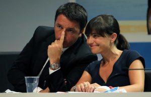 "Deborah Serracchiani (nella foto con Matteo Renzi): ""Sollievo per studentesse liberate in Nigeria""...tweet per Africa ma si vota a Gorizia (Foto ANSA / MATTEO BAZZI)"
