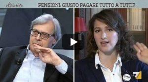 """Vittorio Sgarbi: """"Alice Salvatore (M5s) ignorante come una capra"""". A processo, offende il giudice"""