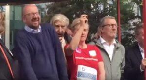 Principessa Astrid spara per dare via alla gara: premier belga è troppo vicino, danni permanenti al timpano
