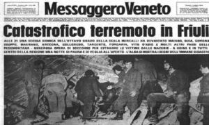 Terremoto Friuli, dopo 41 anni le iniziative per ricordare la tragedia del terremoto