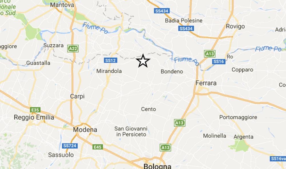 Scossa di terremoto in Alto Adige.