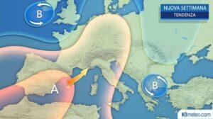 Previsioni Meteo: dal 22 al 28 maggio torna il caldo con qualche temporale