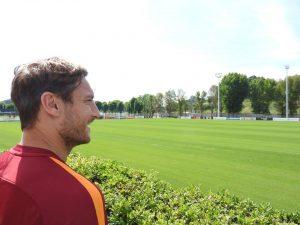 Francesco Totti porta a cena la Roma da Heinz Beck. Ma non Spalletti