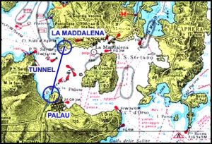 Tunnel sottomarino Palau Maddalena. Tempesta di sì e di no sui social