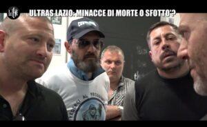 """Irriducibili Lazio a Le Iene: """"Perché abbiamo appeso i manichini dei giocatori della Roma"""""""