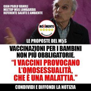 M5S contro i vaccini: ecco dove, come, quando