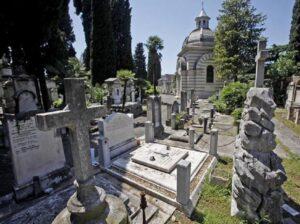 Roma, profanate decine di tombe di ebrei al Verano
