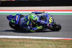 MotoGp Mugello: Vinales super nel warm up. Valentino Rossi settimo