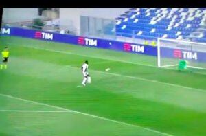 Kean rigore a cucchiaio sbagliato (VIDEO), Fiorentina elimina Juventus