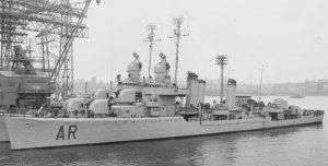 Cacciatorpediniere Artigliere ritrovato in fondo al mare (3600 mt). Fu affondato dagli inglesi nel '40